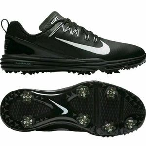 Nike Lunar Command 2 Golf Cleats Shoes Men's Black